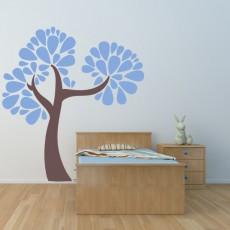 Drevo s polkrožnimi listki