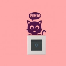 Mačka pozdrav