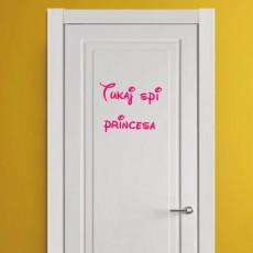 Tukaj spi princesa