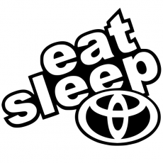 Eat sleep toyota