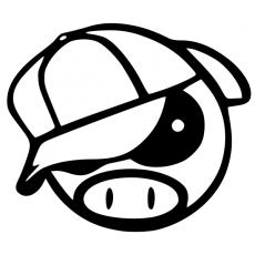 JDM piggy hat