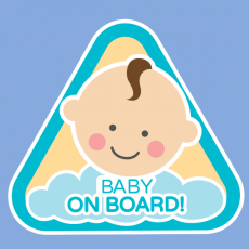Baby on board boy